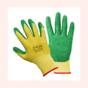 Hand Gloves Rubber Coated
